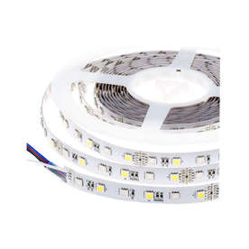 LED лента RGB-NW, 10.8W/M, 12VDC, SMD5050, 300led/m, IP20, ролка 5 метра