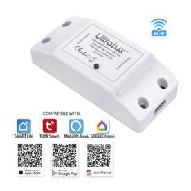 Smart ключ WiFi, 220V, 10A, 2.4 GHz, IP20, Smart Life (iOS 8.0, Android 4.4)