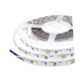 LED лента RGB-NW, 14.4W/M, 12VDC, SMD5050, 300led/m, IP20, ролка 5 метра